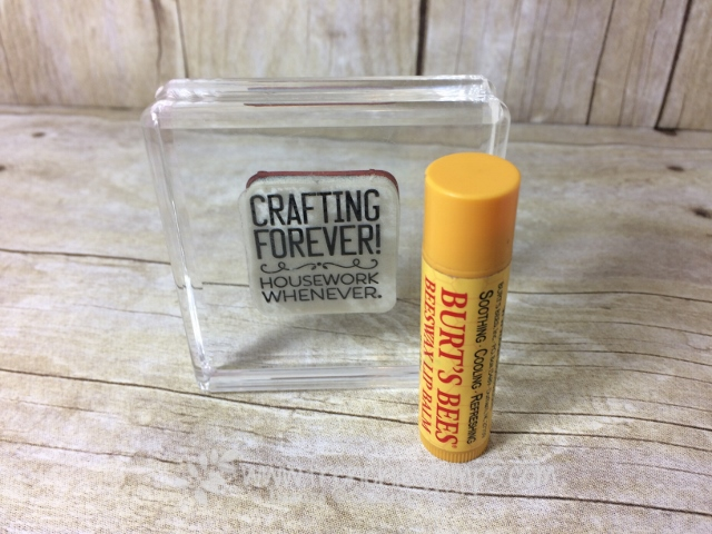 Beeswax, Clear mount stamps stick on block, Stampin'Up!