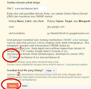Cara Memindahkan Domain Blogsopt Ke Hostinger