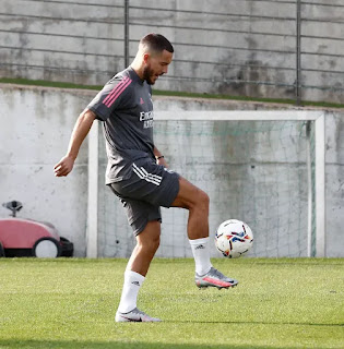 Pictures: Real Madrid Tuesday intense training session with Ball work