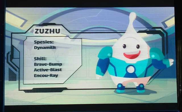 Karakter Zuzhu