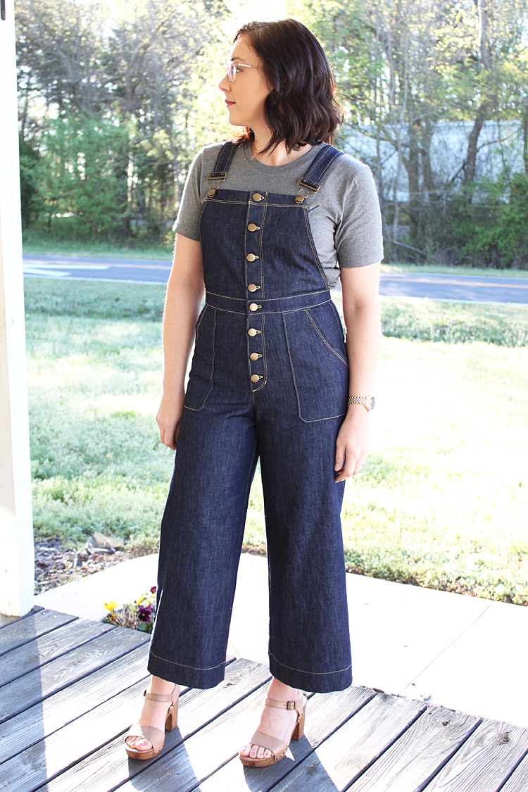Jenny Overalls // Sewing For Women