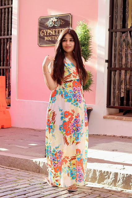 Maxi dresses floral long dress