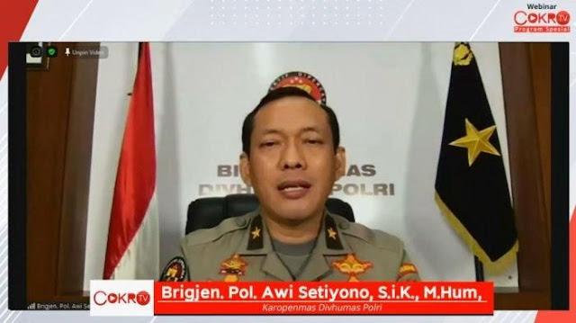 Polri Tak Tahu-menahu Nama Rizieq Shihab Masuk Daftar Red Notice Interpol
