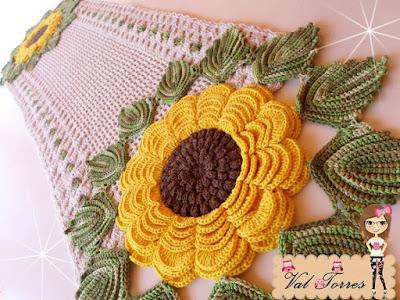 Jogo de tapetes em crochê, Tapete em crochê, Tapetes, tapetes em barbante, tapetes floridos em crochê,