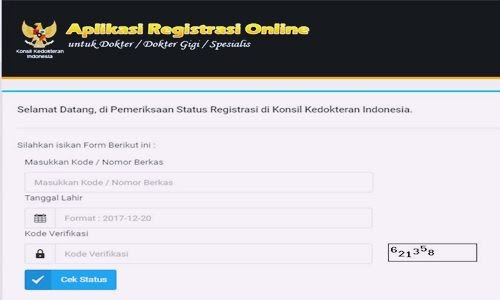 Cara Mudah Cek Status STR Online Dokter Umum, Dokter Gigi, Spesialis di Aplikasi KKI - www.herusetianto.com