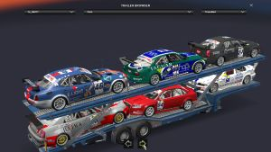 Standalone Sport Cars Transport Trailer v 1.24
