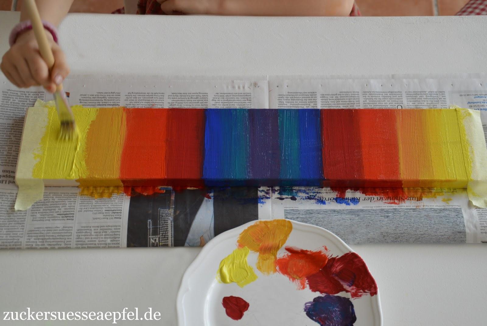 ♥ Zuckersüße Äpfel - kreativer Familienblog ♥: Eine Garderobe in ...