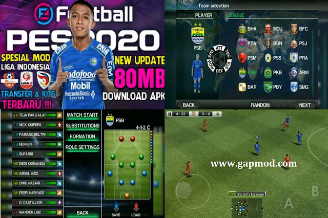 Download PES 2011 Mod PES 2020 Shopee Liga 1 Indonesia Transfers & Kits Update 2020
