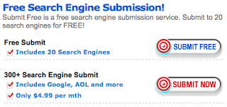 Layanan Free Web Submission ke Search Engine