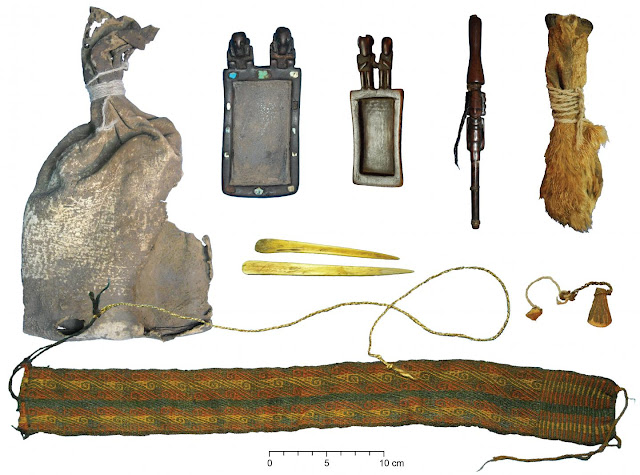 Ancient ritual bundle found in Bolivia contained multiple psychotropic plants
