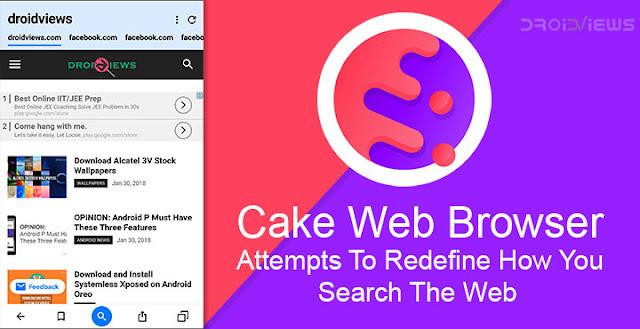 تنزيل Cake Web Browser-Free VPN, Fast, Private, Adblock- سريع ، خاص ، مانع الإعلانات ، متصفح مليء بالميزات للاندرويد و الايفون