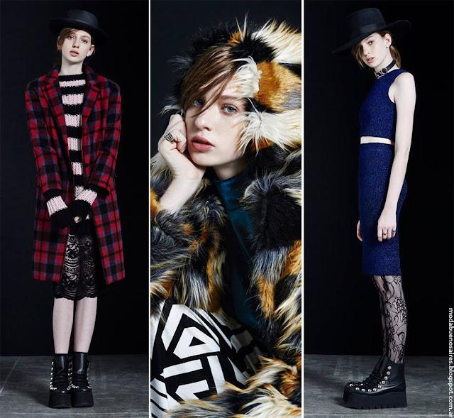 Moda otoño invierno 2016 looks Complot. Ropa de mujer de moda invierno 2016.