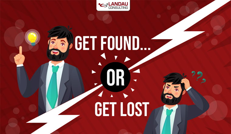 Get Found or Get Lost! #infographic