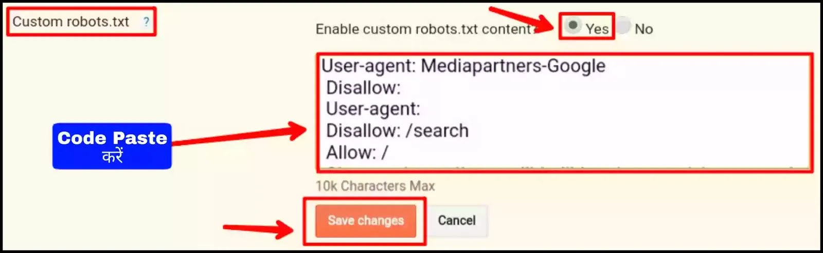 what is robot.txt in seo in hindi