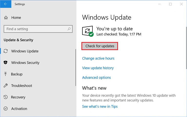 League of Legends -Install the Latest Windows Updates