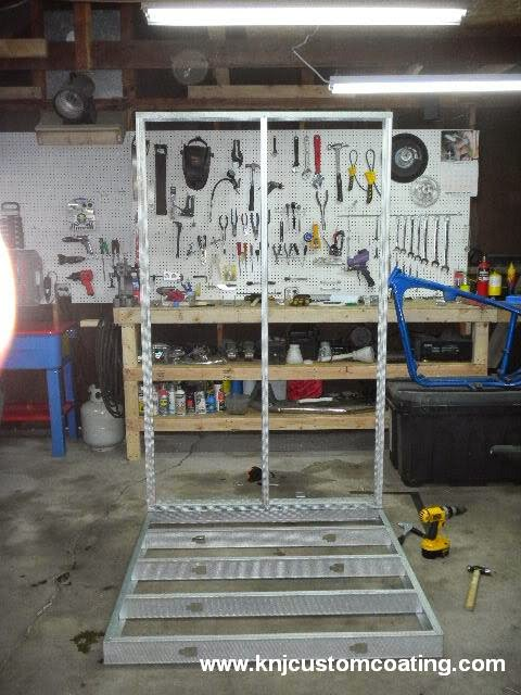 Powder Coating Oven Wall Frame