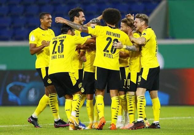 موعد مباراة بوروسيا دورتموند وأوجسبورج في الدوري الالماني والقناة الناقلة