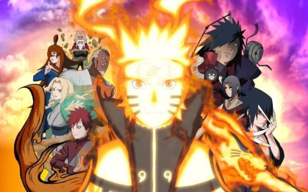 Naruto - Daftar Anime Martial Arts Terbaik dan Terpopuler