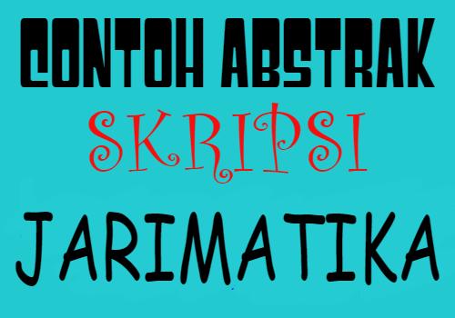 contoh-abstrak-skripsi-tentang-jarimatika
