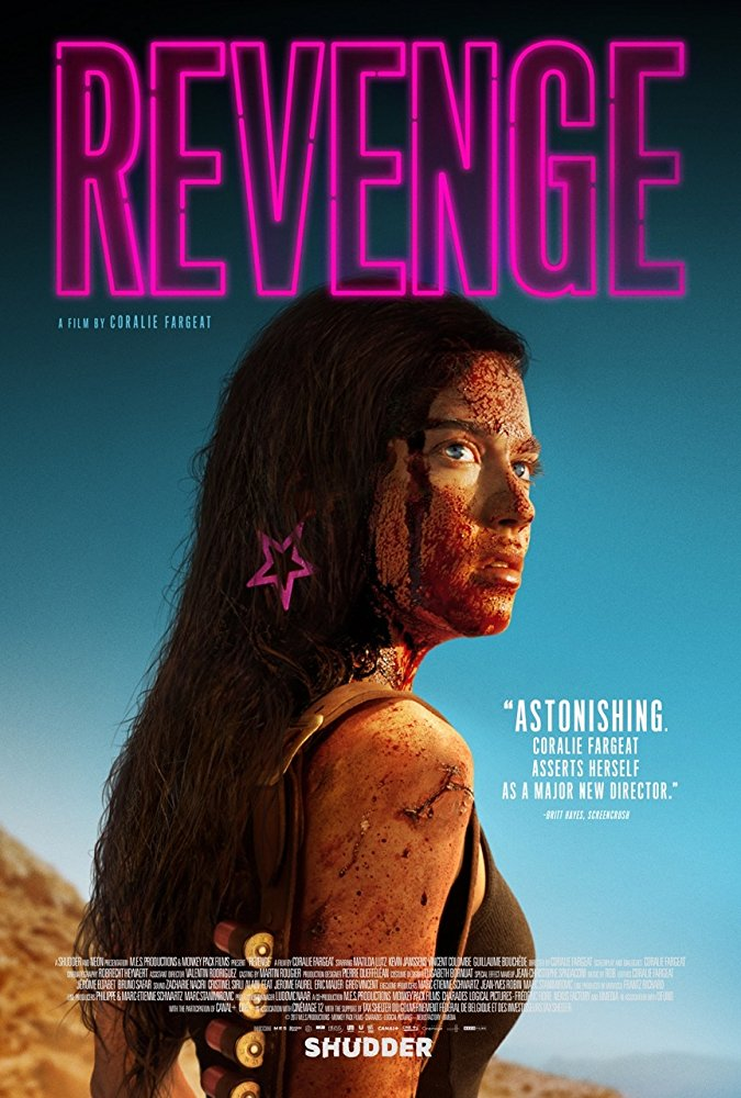 revenge 2018 poster