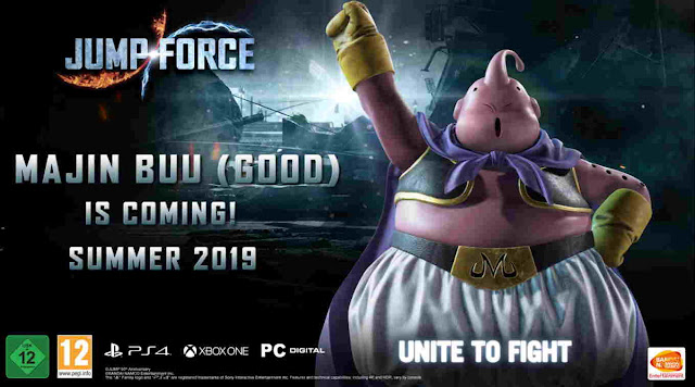 Video Preview Game Jump Force DLC Karakter Majin Buu