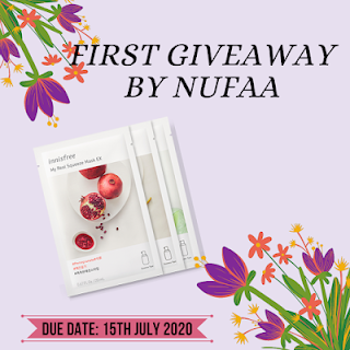 First Giveaway By Nufaa.