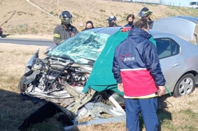 Accidente fatal en la autopista Santa Fe-Rosario