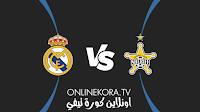 مشاهدة مباراة ريال مدريد وشيريف تيراسبول القادمة كورة اون لاين بث مباشر اليوم 28-09-2021 في دوري أبطال أوروبا
