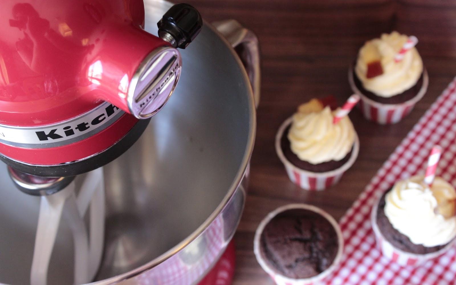 Miss Blueberrymuffin S Kitchen Cola Cupcakes Und Mein Neues Kuchengluck