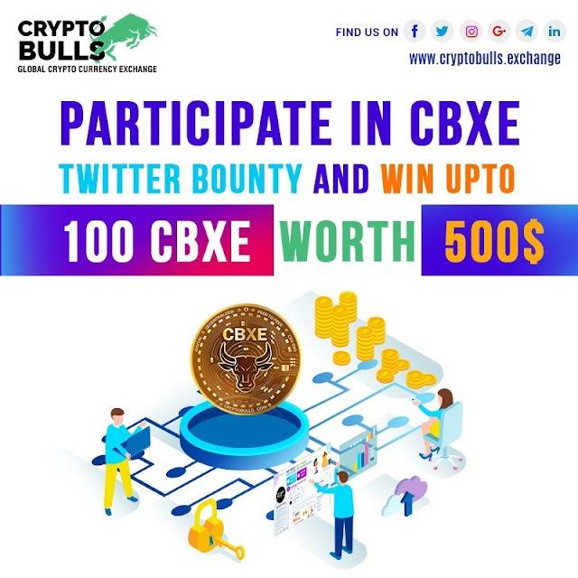 CryptoBull Exchange Bounty Worth 500$