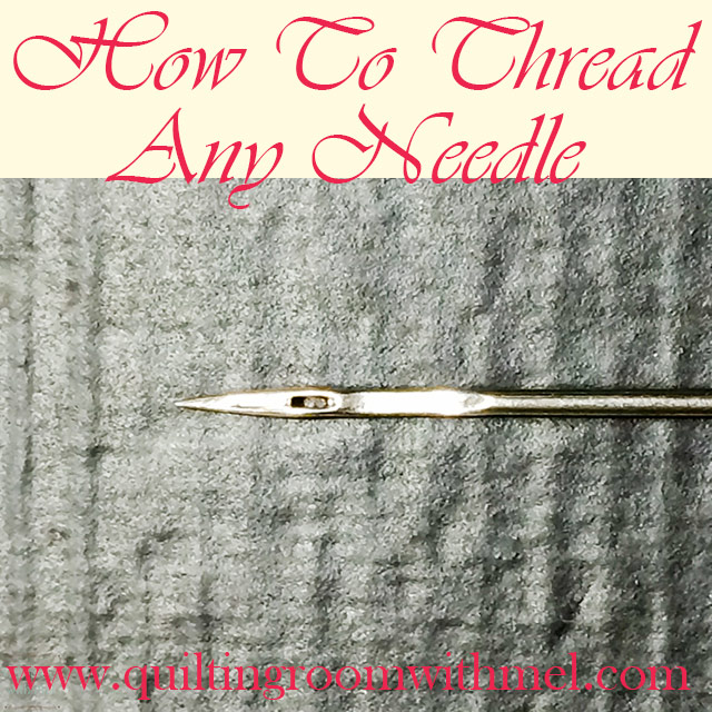 thread sewing needle