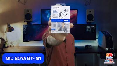 مراجعة مايك بويا BOYA BY M1 الاحترافى لكل يوتيوبر جوده عاليه وسعر اقل