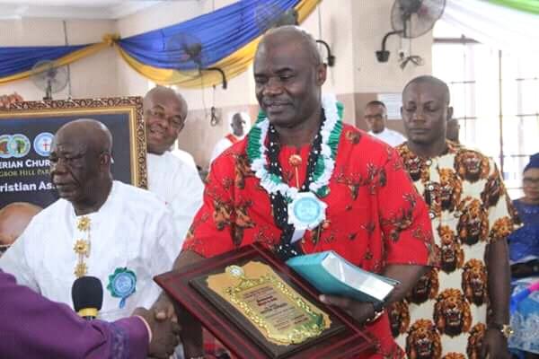 Presbyterian Church to Ikpeazu: you are a builder