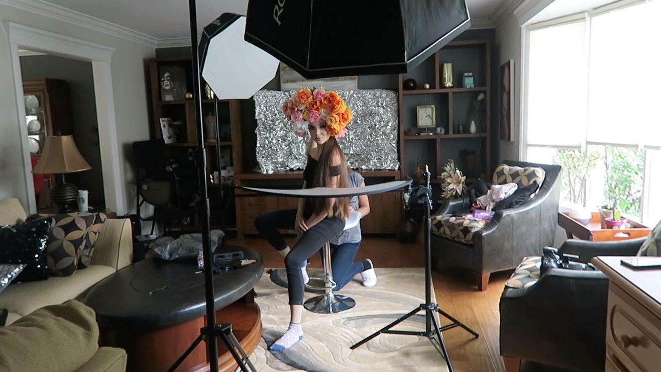 Процесс фотосъемки
