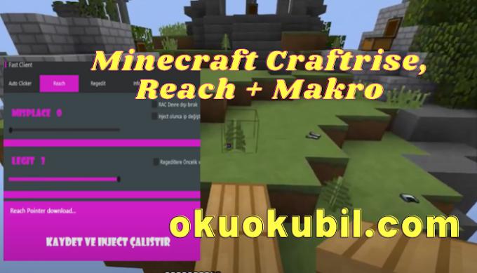 Minecraft Craftrise, Reach + Makro Hilesi Kasım