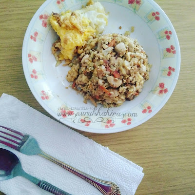Resepi Diet Atkins: Nasi Goreng Atkins
