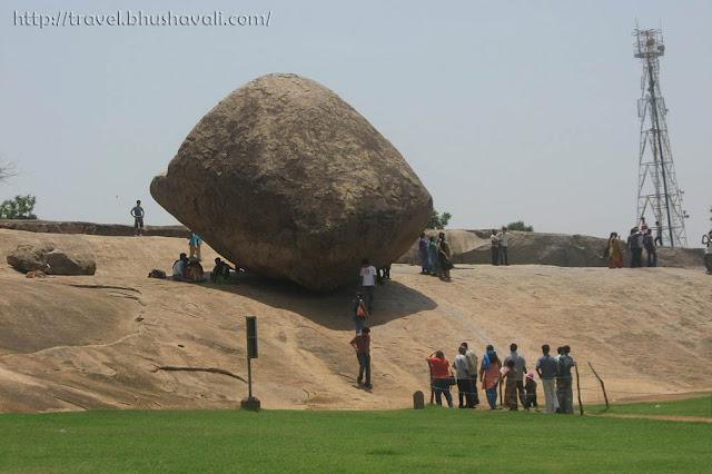 Krishna Butter Ball Mahabalipuram Mamallapuram
