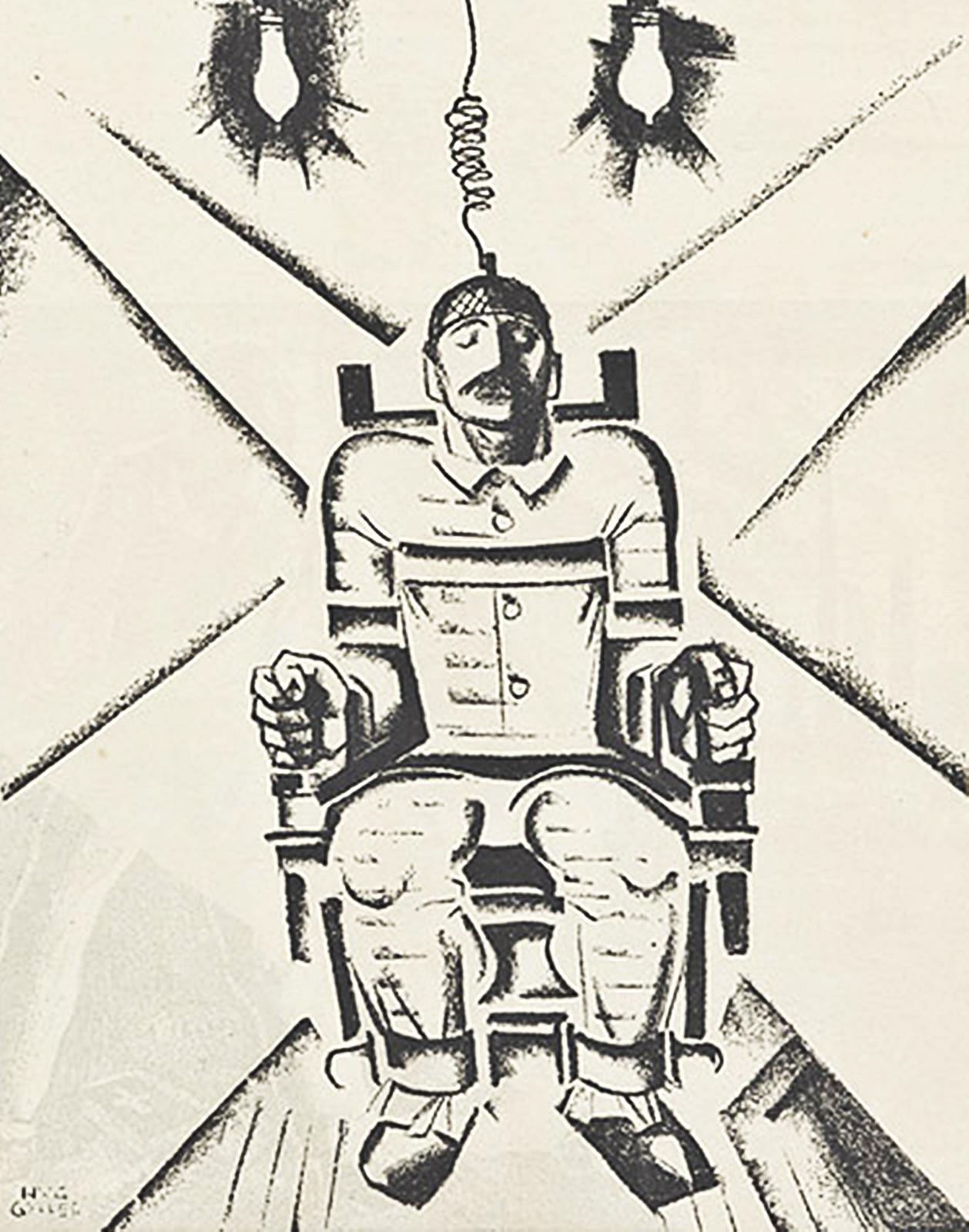 Mo t saiques 2 p 175 23 ao t 1927 sacco et vanzetti - Execution chaise electrique video ...