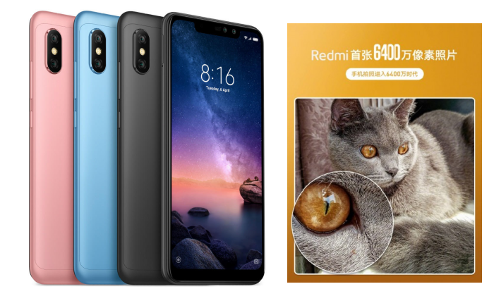 Redmi Akan Luncurkan Ponsel Smartphone Dengan Resolusi Kamera 64 MP