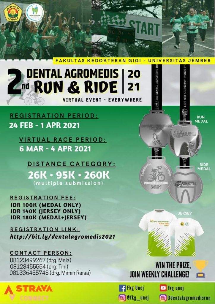 Dental Agromedis Virtual Run and Ride • 2021