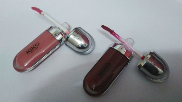 Kiko Milano Lip Gloss - Packaging & Texture