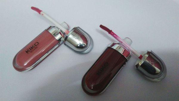 Kiko Milano Lip Gloss - Packaging & Texture