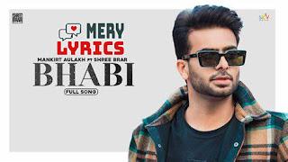 Bhabi Lyrics By Mankirt Aulakh
