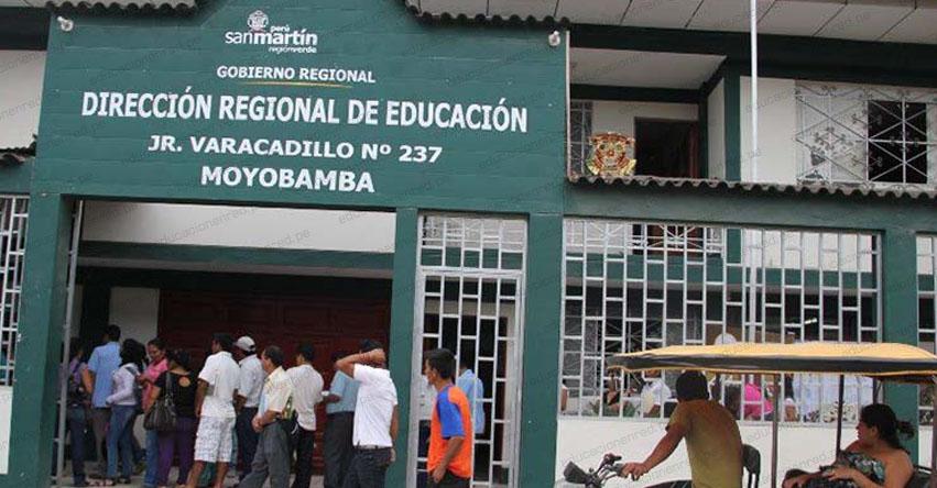 DRE San Martín: Las clases seguirán siendo remotas a través de la plataforma «Aprendo en Casa»