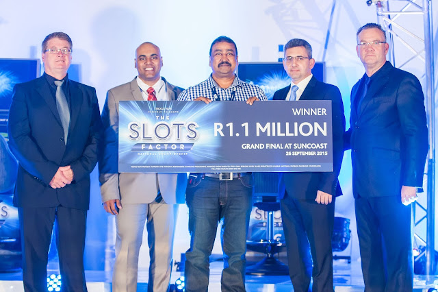 Slots Factor 2015 - winner - Rajendheran Naidoo @MontecasinoZA