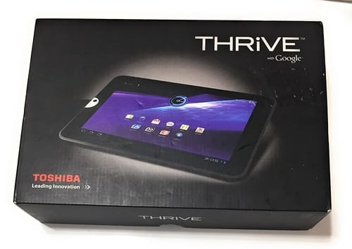 Review Toshiba Thrive 10.1-Inch 16 GB Android Tablet
