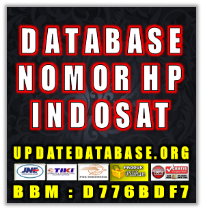 Jual Database Nomor HP Indosat