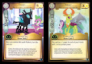 My Little Pony Thorax, The Changed Changeling Defenders of Equestria CCG Card