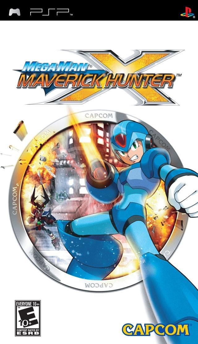 ROMs - Megaman Maverick Hunter - PSP Download