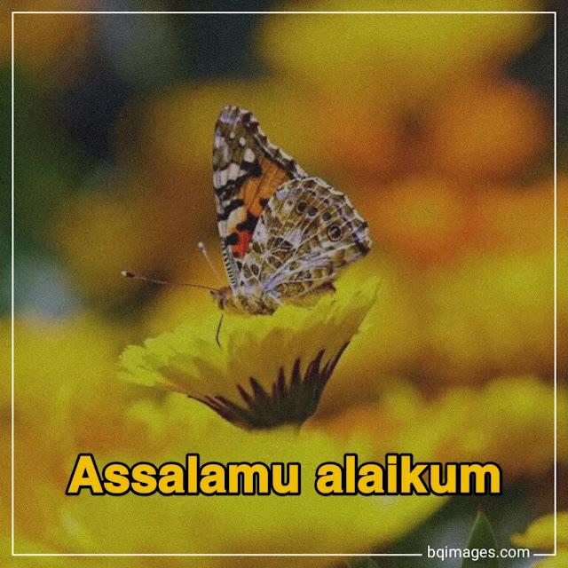 assalamualaikum images in english